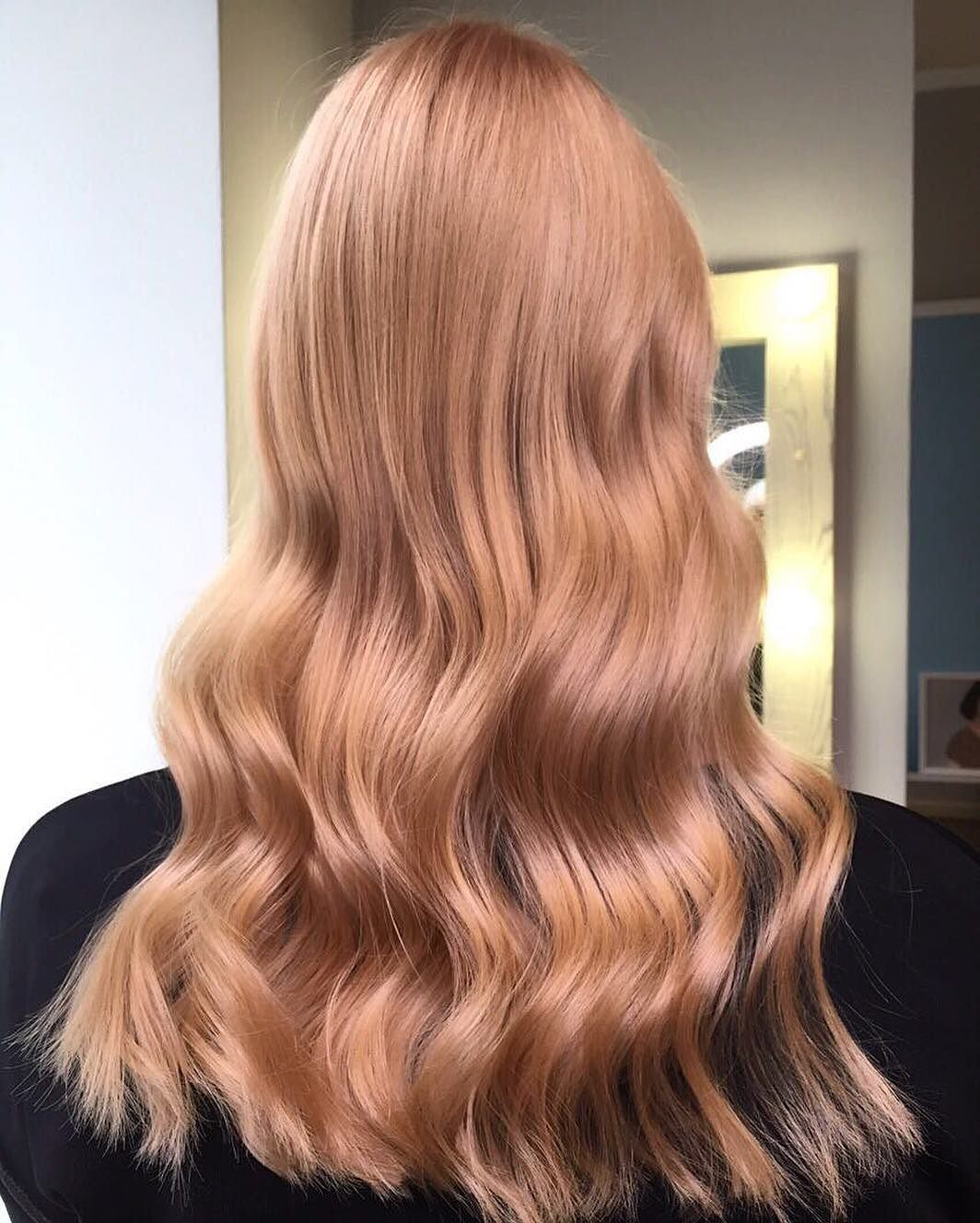 клубничный блонд волос фото