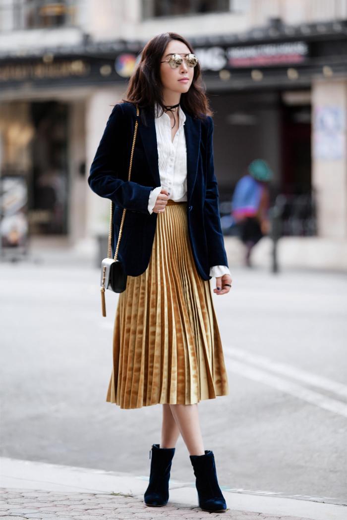 5568b79c1f41 Модные Идеи 2019] — С чем носить Плиссированную Юбку?!