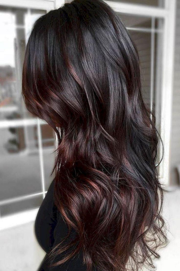 Фото цвета волос шоколадный каштан фото