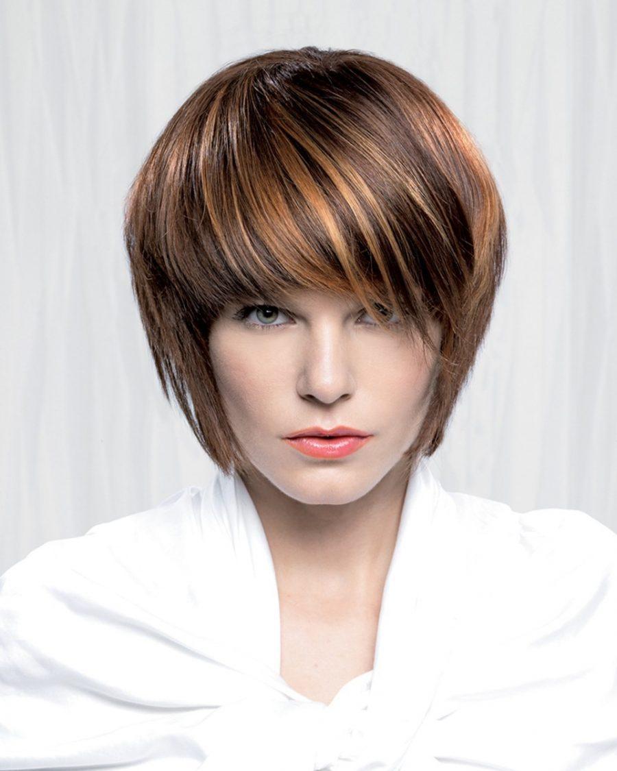 Стрижка на тонкий волос 2018