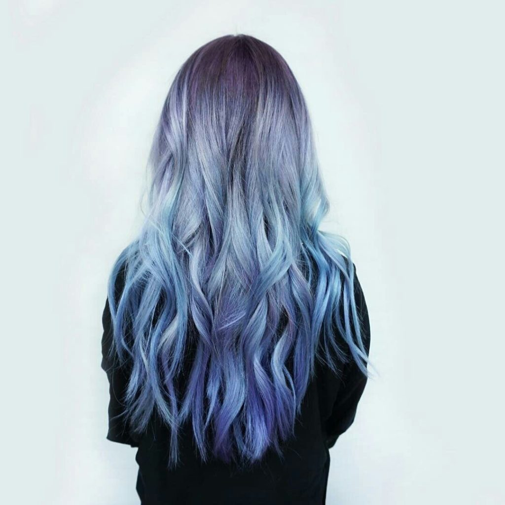 может синий серый омбре на концах волос картинки пекинской капусты