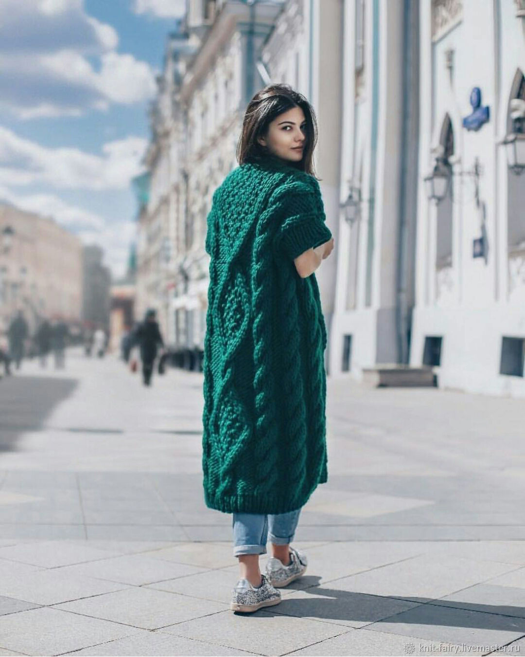вязаные кардиганы фото с чем носить в 2019 тренд