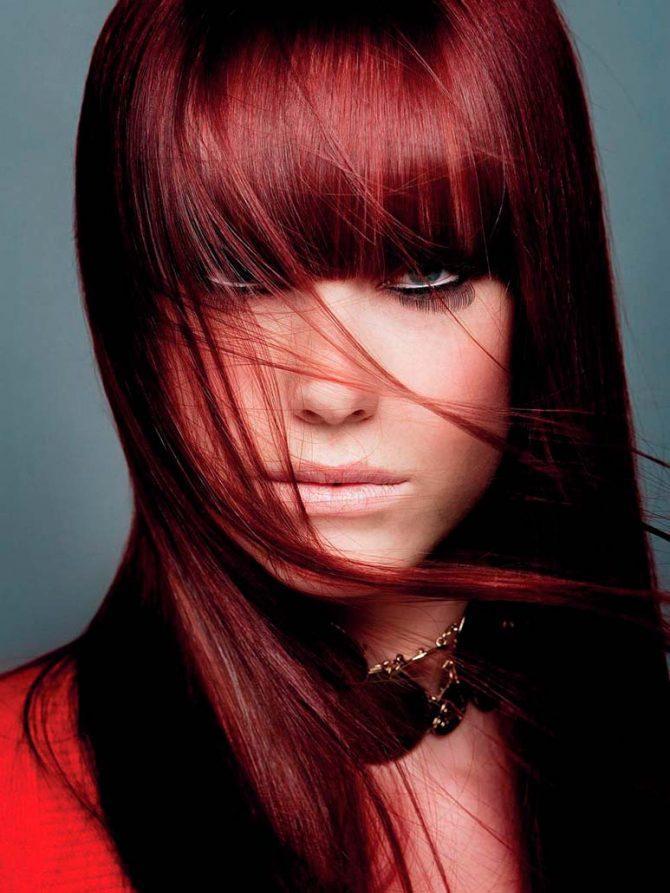 Вишневые волосы картинки