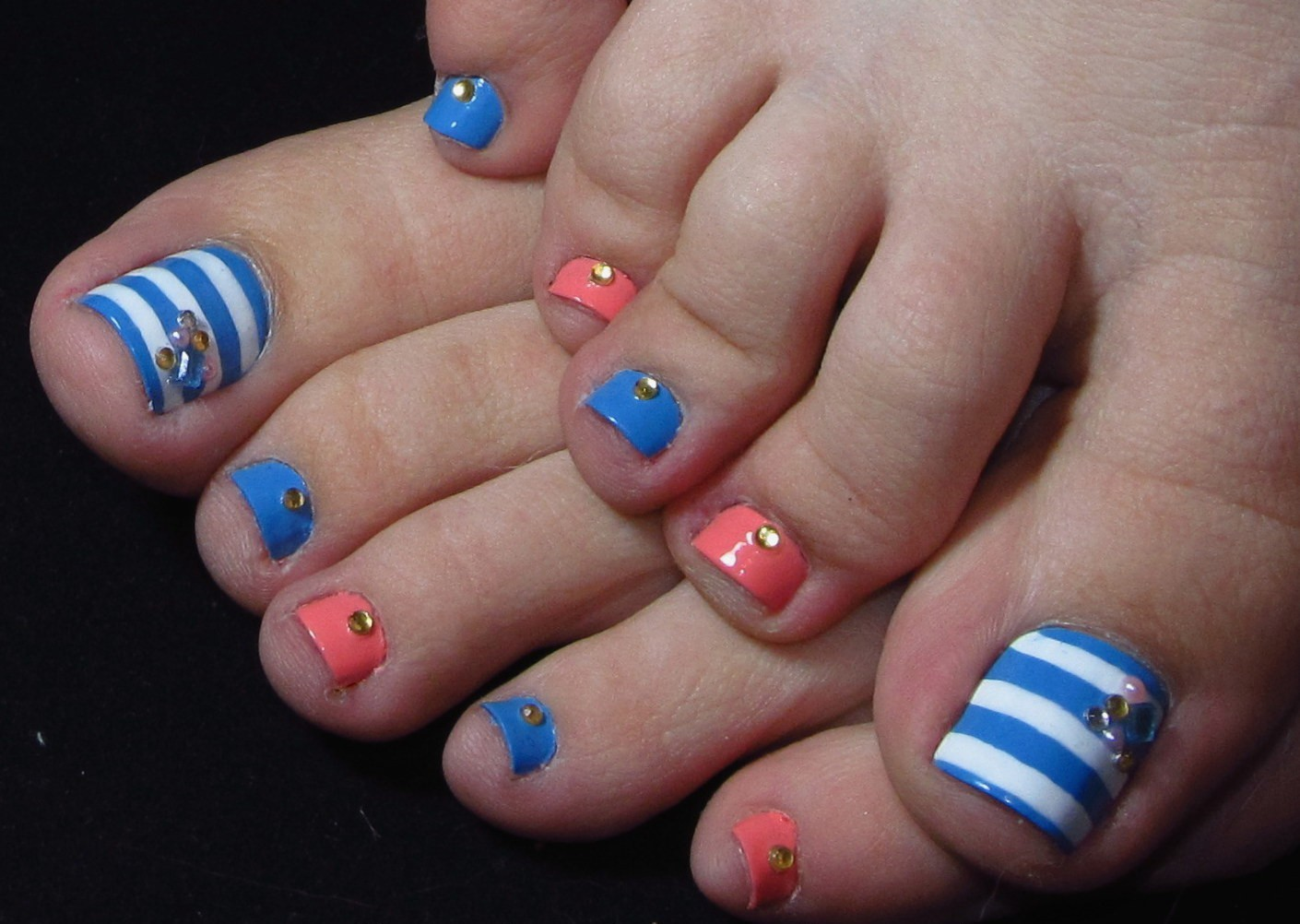 Top Pedicure Nail Designs Designs Ideas You Need To Try This 2018 @[Summer Nail Designs for 2018 Best Nail Art Ideas Best Nail Art Ideas for S
