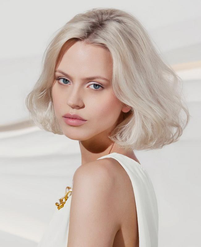 Модное окрашивание в оттенки блонд