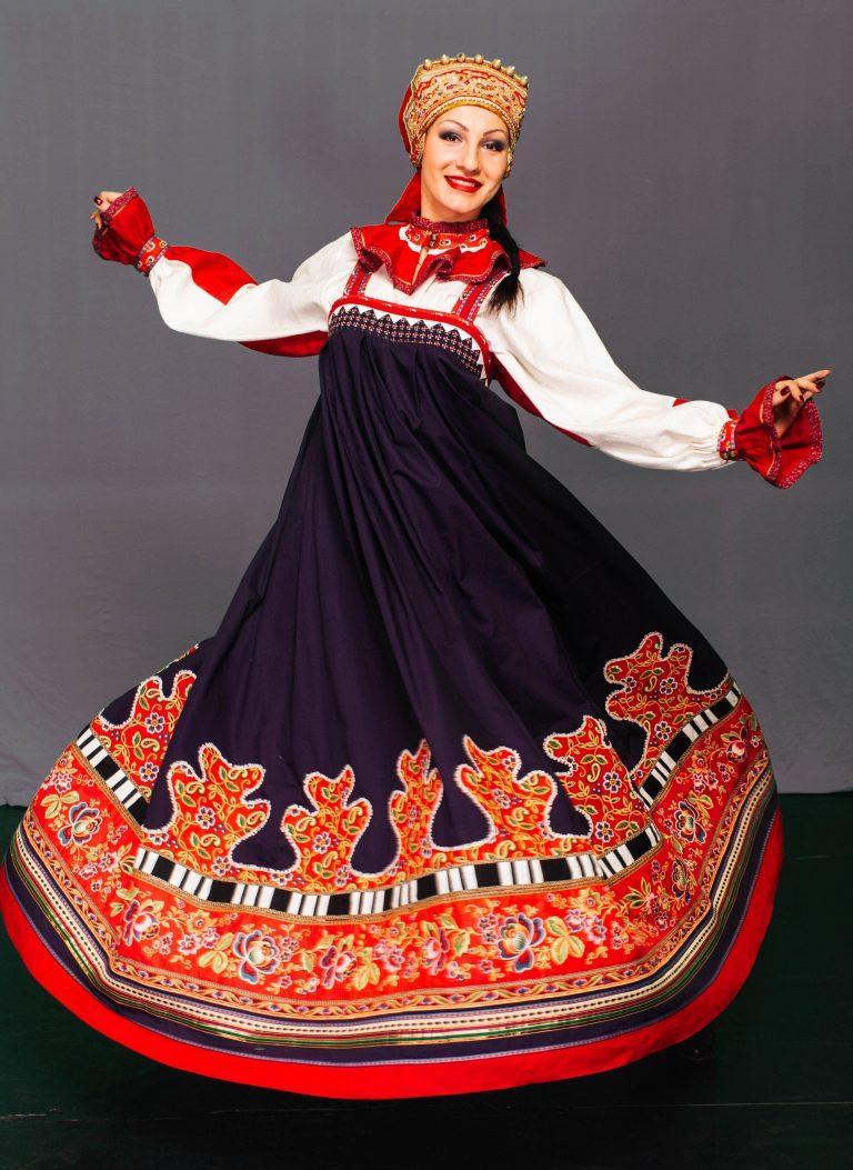современный русский народный костюм фото набережной