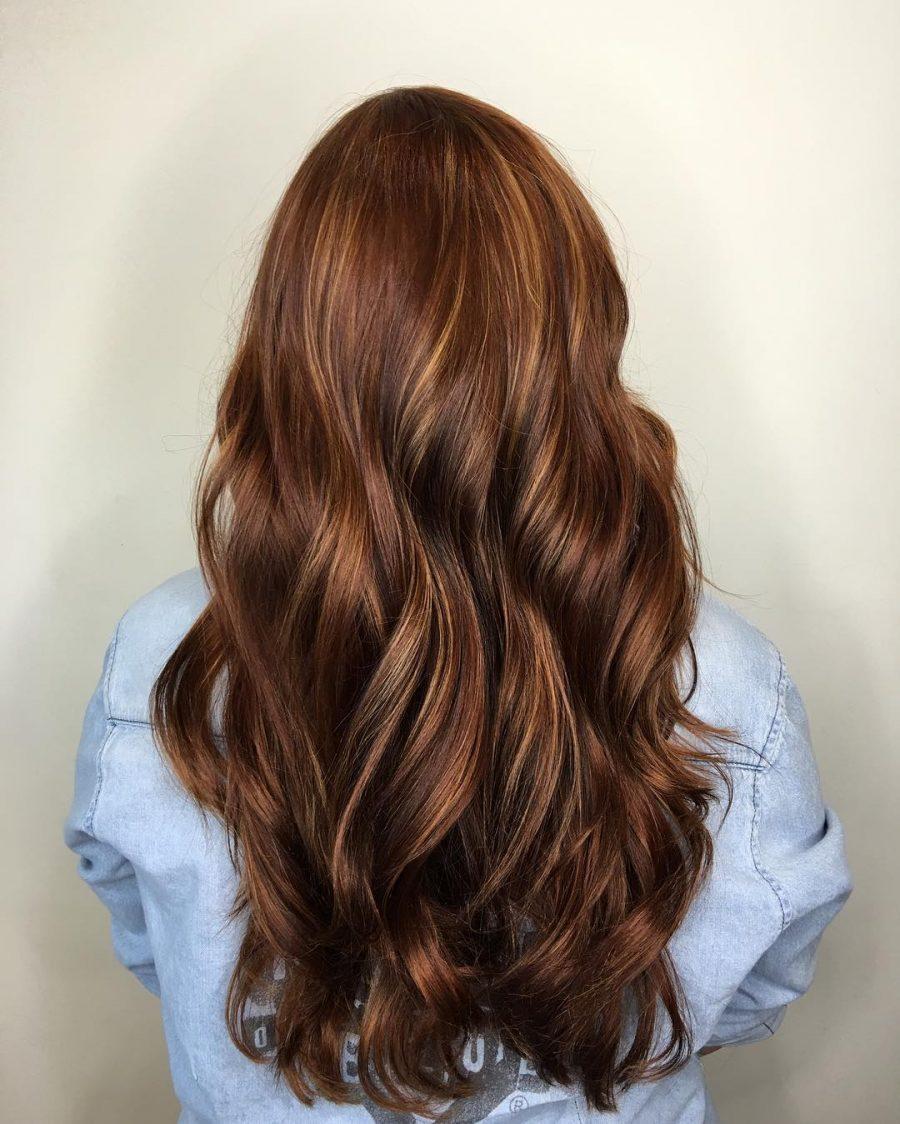 100 caramel highlights ideas for all hair colors - 736×830